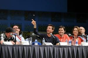Comic-Con: Simon Pegg, aNick Frost, Jason Bateman, Bill Hader and Sigourney Weaver