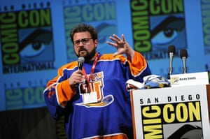 Comic-Con: Filmmaker Kevin Smith speaks during a panel discussion