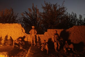 Afghanistan: 5 July 2009: US Marines from the 2nd MEB