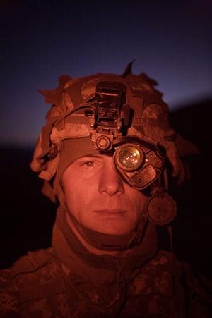 Afghanistan: 23 November 2006: Forward Operating Base, The Korengal Outpost, Afghanistan