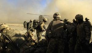 Afghanistan: 29 February 2007: Royal Marine Commandos