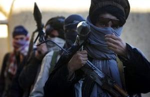 Afghanistan: 24 November 2006: Taliban insurgents