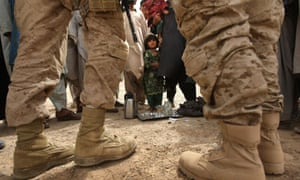 U.S. Marines On Operations In Remote Southwest Afghanistan