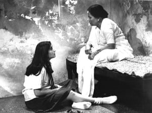 Tamasha Theatre Company: Mina Anwar and Charubala Chokshi in A Shaft of Sunlight in 1994