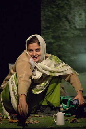 Tamasha Theatre Company: Sudha Bhuchar in Sweet Cider by Em Hussain in 2008