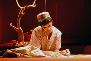 Tamasha Theatre Company: Divian Ladwa in Child of the Divide by Sudha Bhuchar in 2006