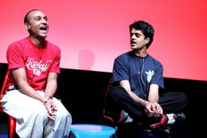 Tamasha Theatre Company: Chris Ryman and Divian Ladwa in The Trouble with Asian Men