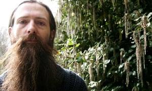 Molecular biologist Aubrey de Grey