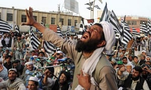 Taliban supporters in Quetta