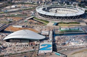 Olympic site: 2 years to go_100721_012