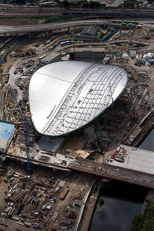 Olympic site: 100630_Aquatics Centre aerial_044