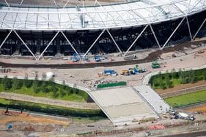 Olympic site: 100630_Olympic Stadium Parklands_062