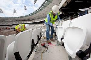 Olympic site: Olympic Stadium seating_100629_058