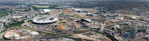 Olympic site: 100630_Olympic Park aerial panorama_065