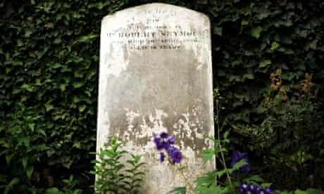 Robert Seymour gravestone