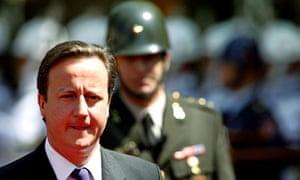British Prime Minister David Cameron is in Turkey.