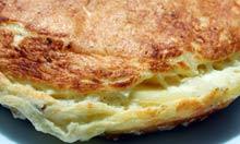 Souffle Spanish omelette