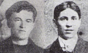 "Leonard Worsell (left) and John ""Jac"" John"