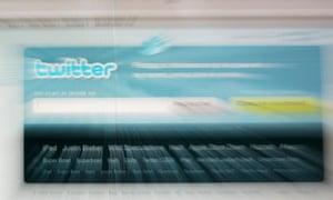 Twitter homepage on 9 February 2010