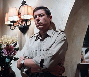 character actors: Danger Man, Two Birds with One Bullet  - John Woodvine