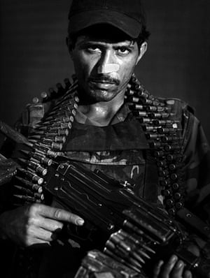Afghan National soldiers: Afghan National Army soldier Mirza Mirzali