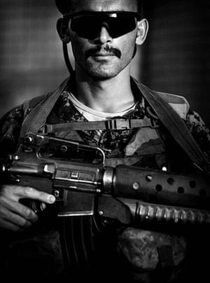 Afghan National soldiers: Afghan National Army soldier Faisullah Kareemay, an ethnic Tajik