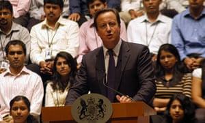 David Cameron bangalore
