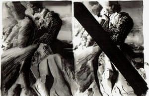 Volcano exhibition: Mount St. Helen's version III by Michael Sandle
