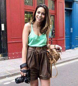 Face hunter: paris: Alline, 25, fashion journalist, Paris