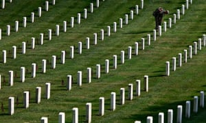 Arlington, close to Washington, has been the national military cemetery since the civil war