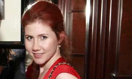 Suspected Socialite Russian Spy Anna Chapman
