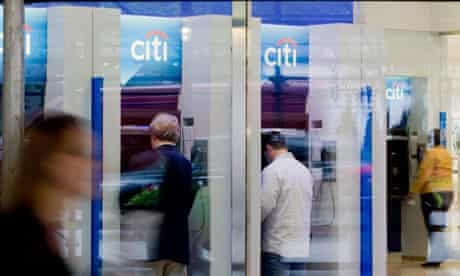 Citigroup ATMs in New York