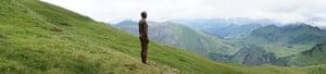Anthony Gormley: Figures at Diedamskopf 'Horizon Field' by Anthony Gormley
