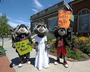Chelsea Clinton wedding : Chelsea Clinton wedding in Rhinebeck, New York State