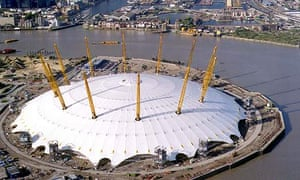 The O2 arena in Greenwich