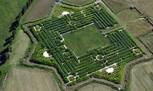 Franco Maria Ricci's maze