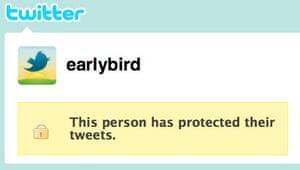 Twitter's new @earlybird account