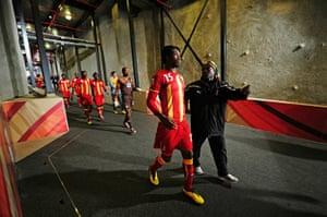sport: Uruguay v Ghana: 2010 FIFA World Cup - Quarter Finals
