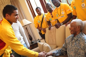 sport: Kevin-Prince Boateng, Nelson Mandela
