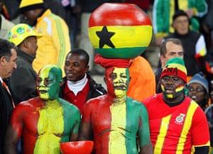sport: Ghana vs Germany