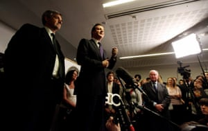 10:10: David Cameron Visits The Department Of Energy And Climate Change