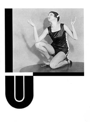 Czech Alphabet postcards: Czech alphabet postcard letter U