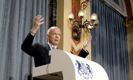 William Hague speech at Foreign Office