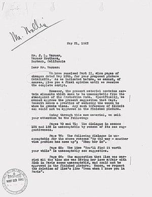 Rejection letters: Rejection letters