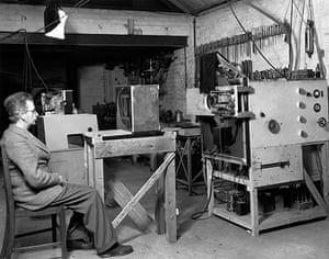 Television: 1941: John Logie Baird stereoscopic colour television receiver