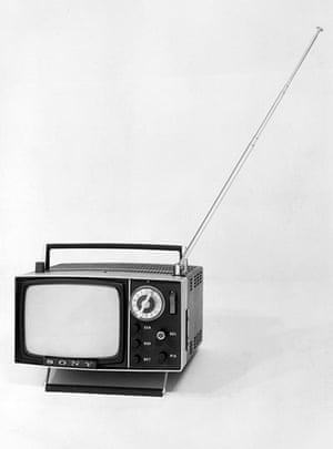 Televisions Through The Years Media The Guardian
