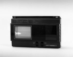 Television: 1981: Portable television designed by Clive Sinclair,