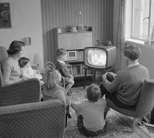 Analogue television: 1958 - smaller television
