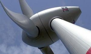 E-112  windmill in Emden, Germany