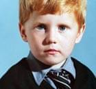 Raoul Moat aged six